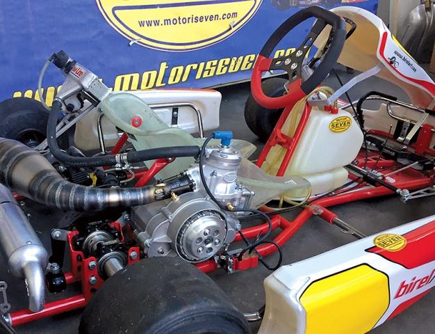 Kz Kart Engine